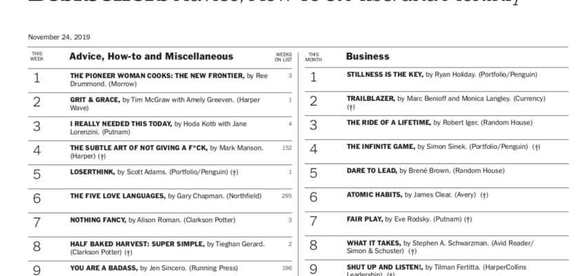 NYT Bestseller!
